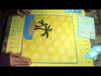 Aloha Scrapbook Layout, Episode 217