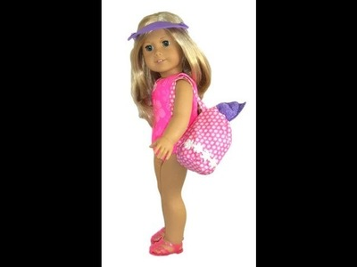 American Girl Doll Clothes Patterns Beach Bag