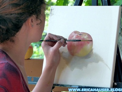 An Apple A Day - Speed Painting by a Professional Artist