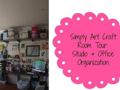 Craft Room Tour: Art Studio & Office elfa Organization 2014
