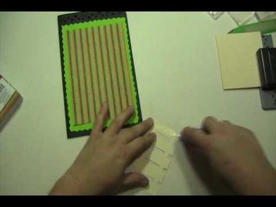 CraftJunkieToo Video #35 ~ Boo! Trick or Treat Card