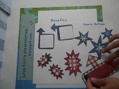 Creative Memories Video #8 - Scrapbook Swap Sets I made, May 2009