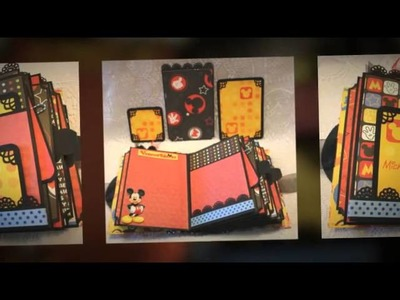 DISNEY MEMORIES premade scrapbook album
