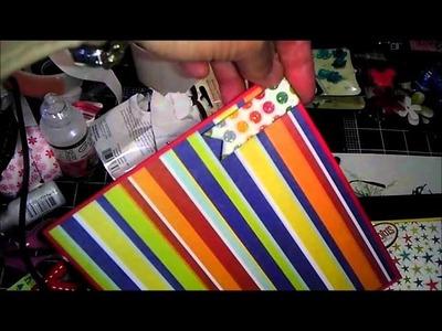 Disney Scrapbook Album - project share Part 1 of 2