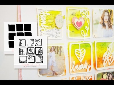 Even the leaves fall for you | A Scrapbook Process video by Wilna Furstenberg