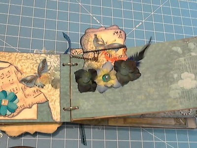 FAMILY Paper Bag Mini Scrapbook Album by ScrapbookGiggles