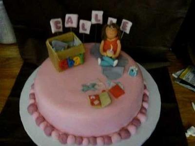 Fondant Character Cake