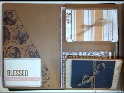 Greeting Card Organizer Scrapbooking With M E  Guest Design Project Part 2 of 5