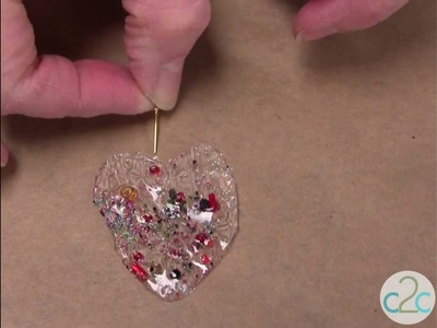 How To Create The Look of a Fused Glass Pendant with Aleene's Platinum Bond 7800 Glue