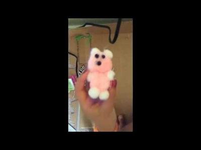 How to make a teddybear for your AG