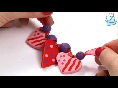 How to make a wooden heart necklace