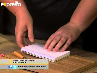 Ideas crafts- How to bind a notebook (2.5.2013)