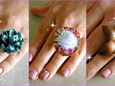 *Jewelry Crafts*: Pretty Handmade Rings!