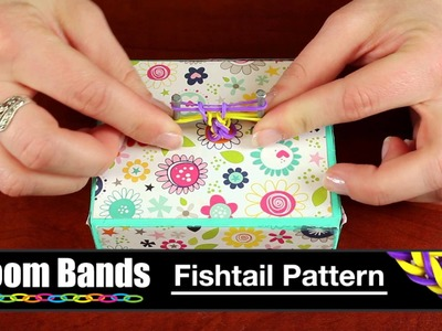 Loom Band Bracelet - Fishtail Pattern