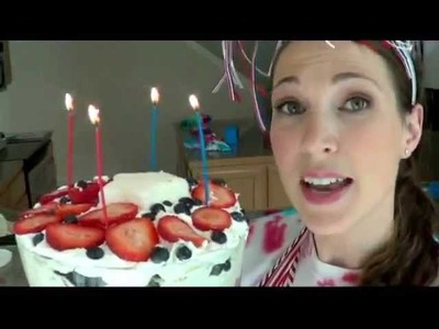 Pretty, Yummy, Fourth of July Trifle! - Crafty Mom's Weekly Challenge - Episode 2