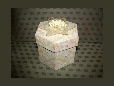 RECYCLE IDEAS: HEXAGONAL GIFT BOX