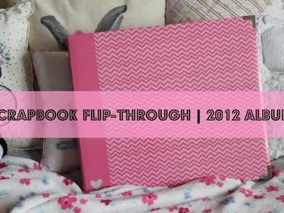 Scrapbook Flip-Through | 2012 Album