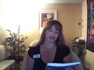 Scrapbook for daily guidance introduction to video journal by Paula Sadler Las Vegas