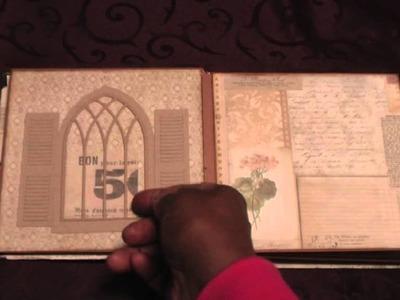 Scrapbook: Melissa Frances Secret Attic Cardstock Mini Album