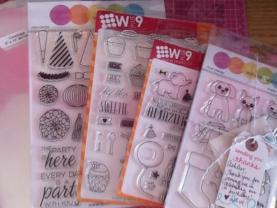 Scrapbooking & Cardmaking Stamp Haul from Winnie & Walter and Simon Says Stamp
