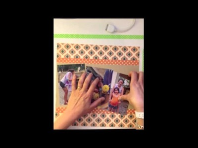 """""""Simple Scrapbook Layout Process Video"""" #1 from @lainehmann of Layoutaday.com"""