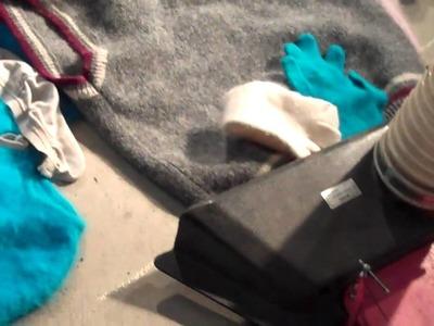 Sweaters versus a vacuum 4.2
