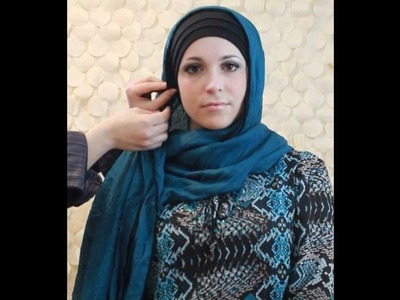 Unique Hijabs: Crinkle Maxi Hijab Tutorial