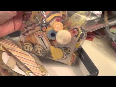 Video #112 Organizing my embellishments