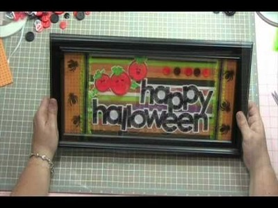 Video #120 - Halloween Home Decor Frame