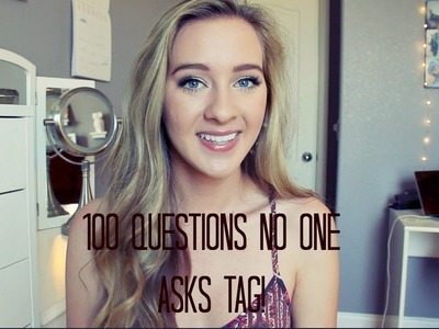 100 Questions No One Asks Tag!