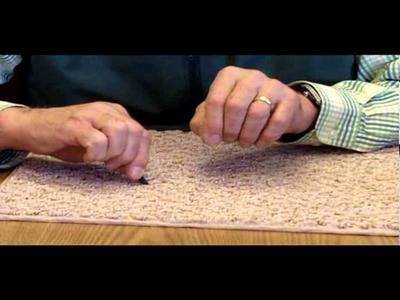 Bish's Original Tear Mender - Snag In Berber Carpet - No Worries