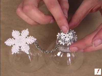 How to Make Snowflake Rings
