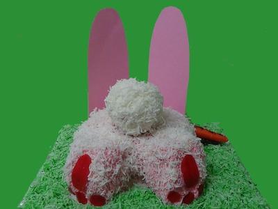 Naughty easter bunny  cake