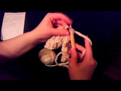 Rasta Neckwarmer Buttonhole Bind Off Tutorial