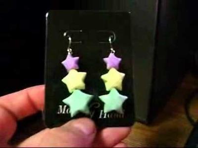 3 Tier Lucky Star Earrings for HowToGirl14