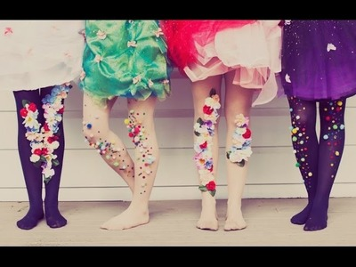 How To Make Leggy Confetti; Gem Stockings
