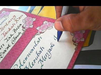 Menulis Indah Dan Mudah _ Writing Beautiful And Easy