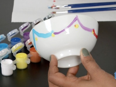 Paint Your Own Porcelain Party Kit from MindWare