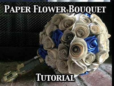 Paper Flower Bouquet Tutorial