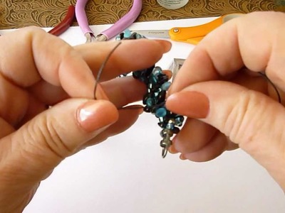 Shorten Kumihimo Bracelet