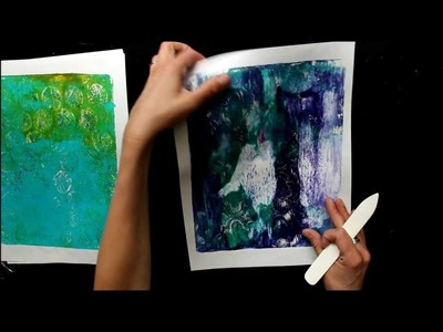 Tutorial: How to Bind a Gelli Print Journal