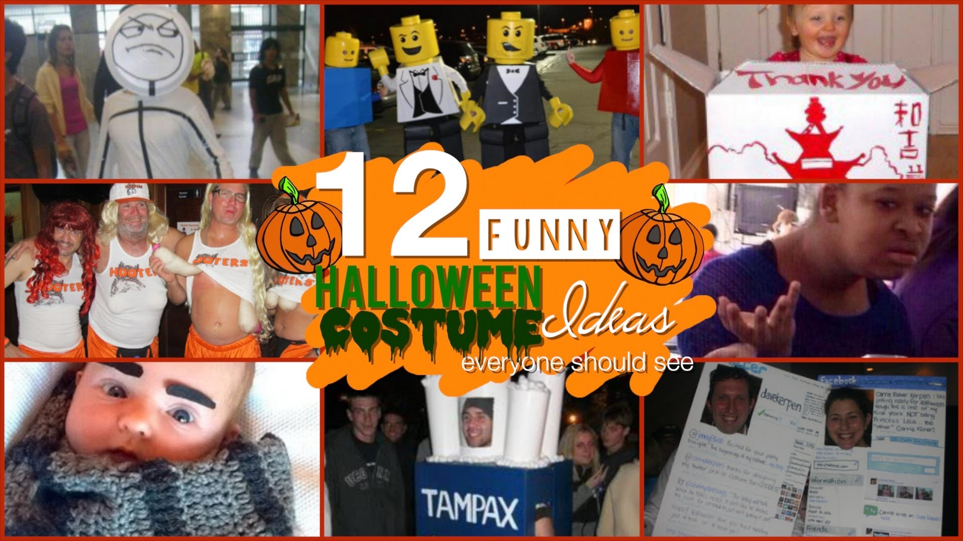 12 FUNNY HALLOWEEN COSTUME IDEAS Everyone Should See