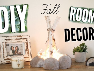 DIY Fall Room Decor! Spice Up Your Room On A Budget For Fall!