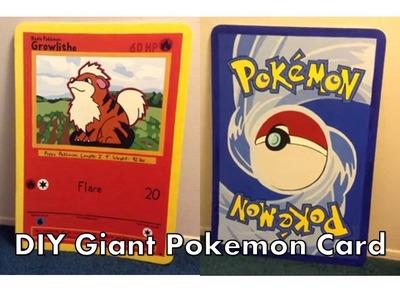 DIY Giant Pokemon Card