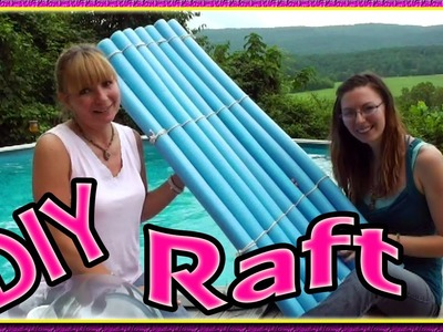 How To Make A Noodle Raft