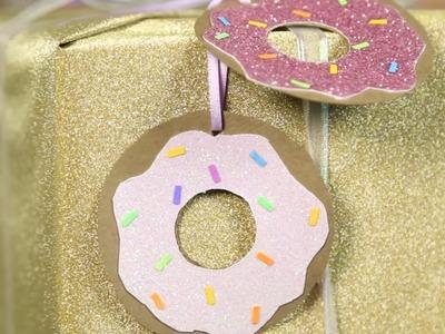 Doughnut Gift Tag ♥ DIY - KAWAIIMAS