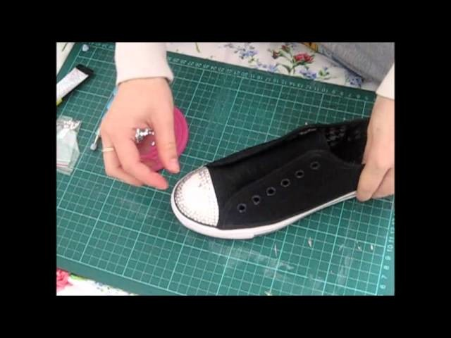 How To Gem | Crystal | Rhinestone Converse