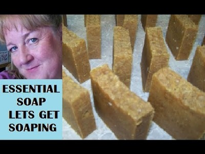 How to make Lush Bee.Bear Porridge Soap with Recipe