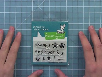 Intro to Mother's Day Lawn Fawn stamp set