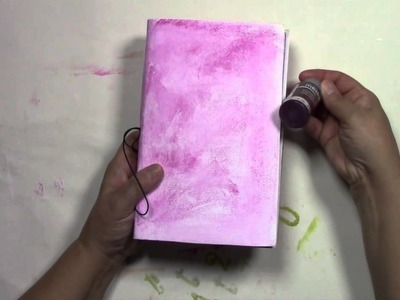 Midori Style Journal with Thin Paper - 365 Art a Day Project